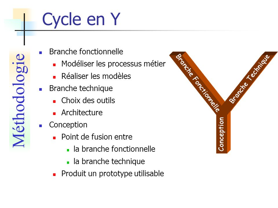 Cycle en Y Méthodologie Branche fonctionnelle