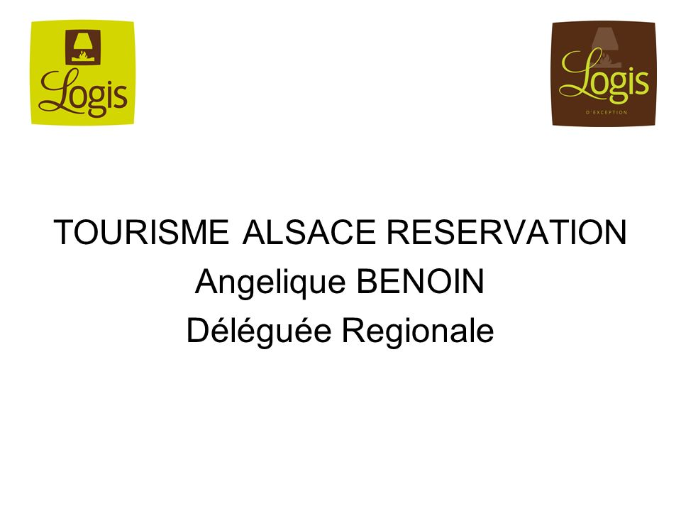 TOURISME ALSACE RESERVATION Angelique BENOIN Déléguée Regionale