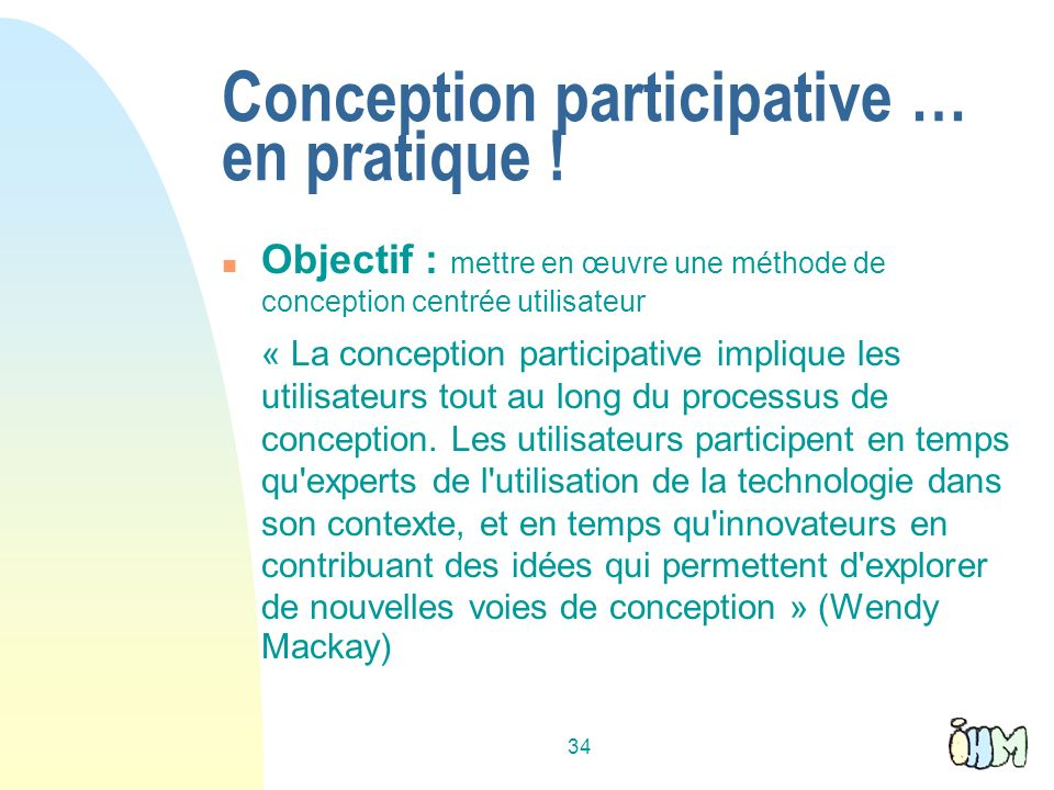 Conception participative … en pratique !