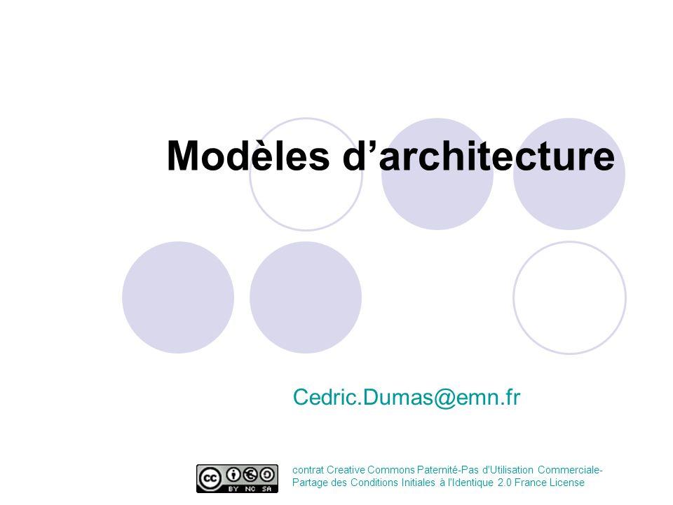 Modèles d'architecture