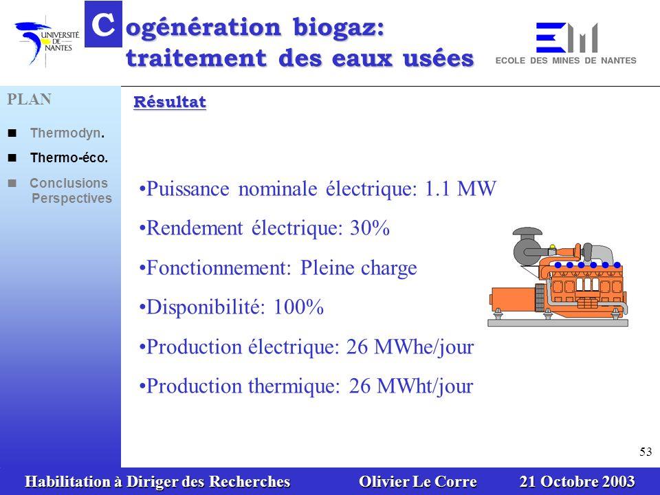 C ogénération biogaz: traitement des eaux usées