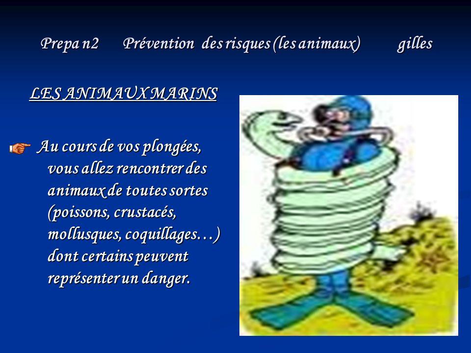 Prepa n2 Prévention des risques (les animaux) gilles