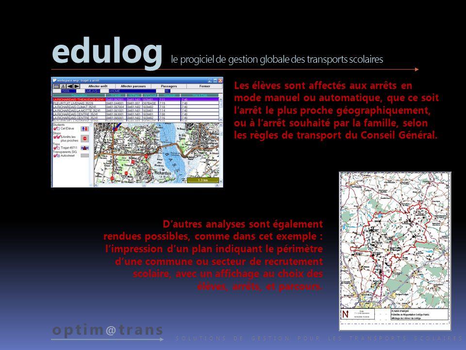 edulog le progiciel de gestion globale des transports scolaires
