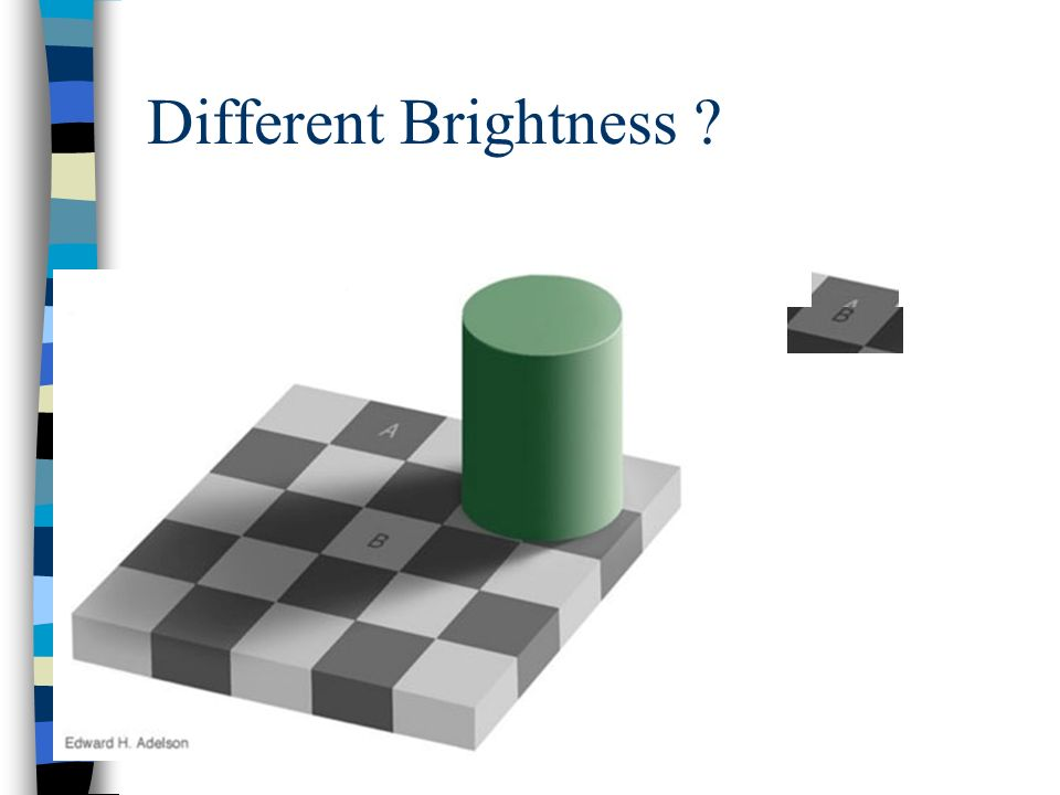 Different Brightness