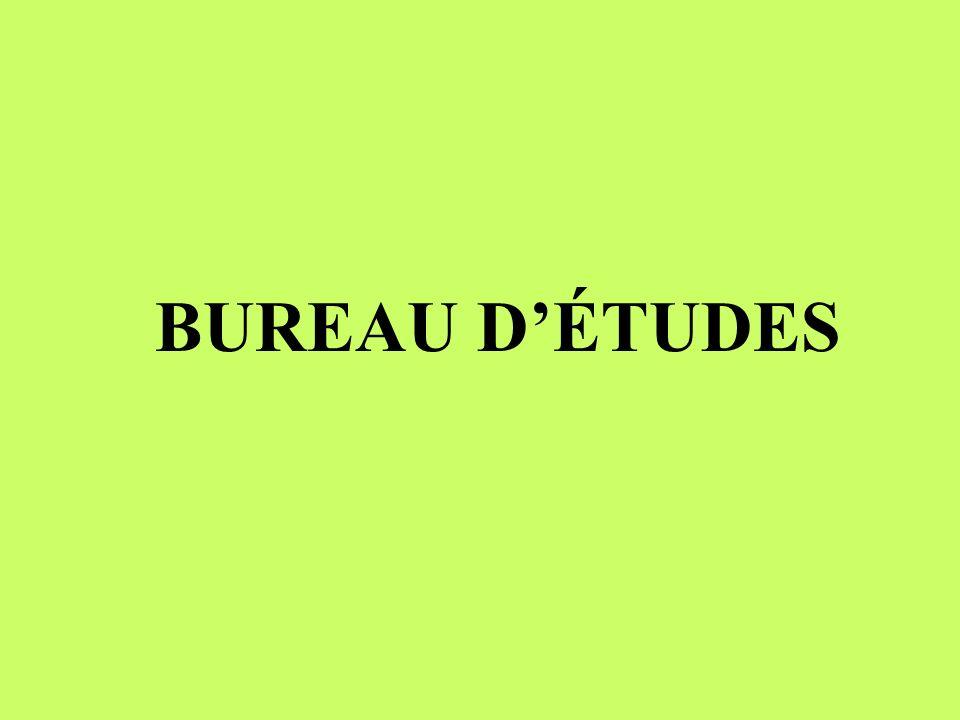 BUREAU D'ÉTUDES