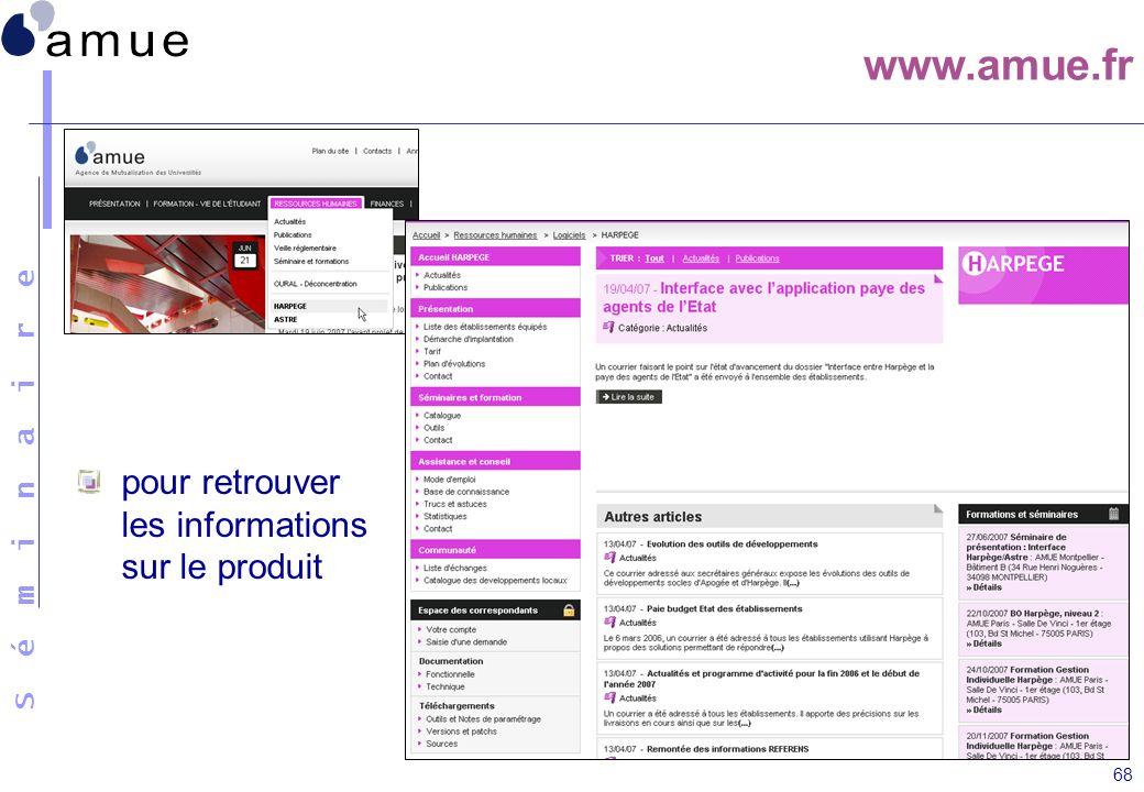www.amue.fr pour retrouver les informations sur le produit