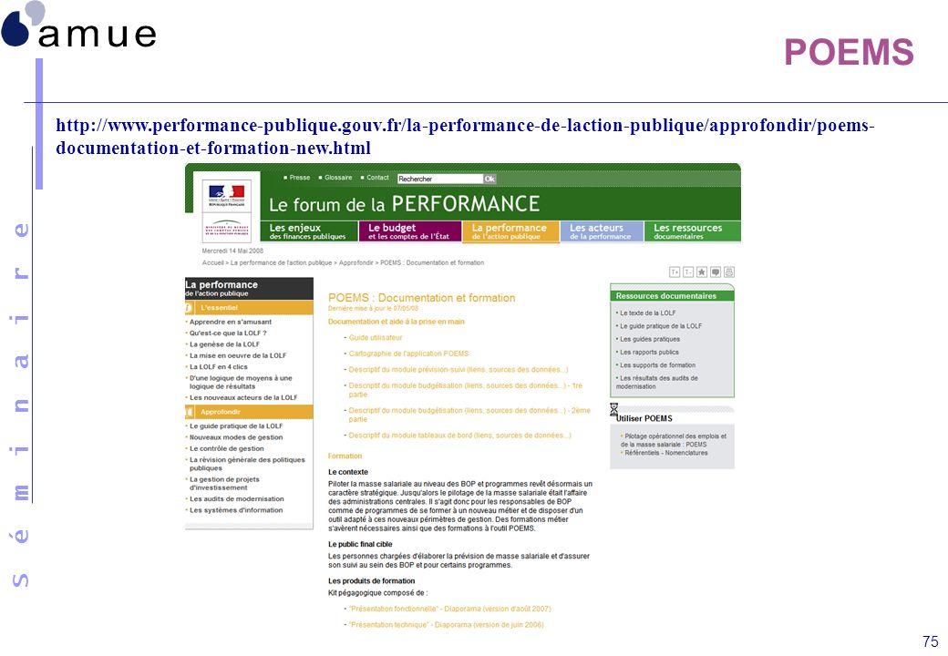 POEMShttp://www.performance-publique.gouv.fr/la-performance-de-laction-publique/approfondir/poems-documentation-et-formation-new.html.
