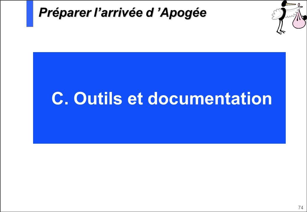 C. Outils et documentation