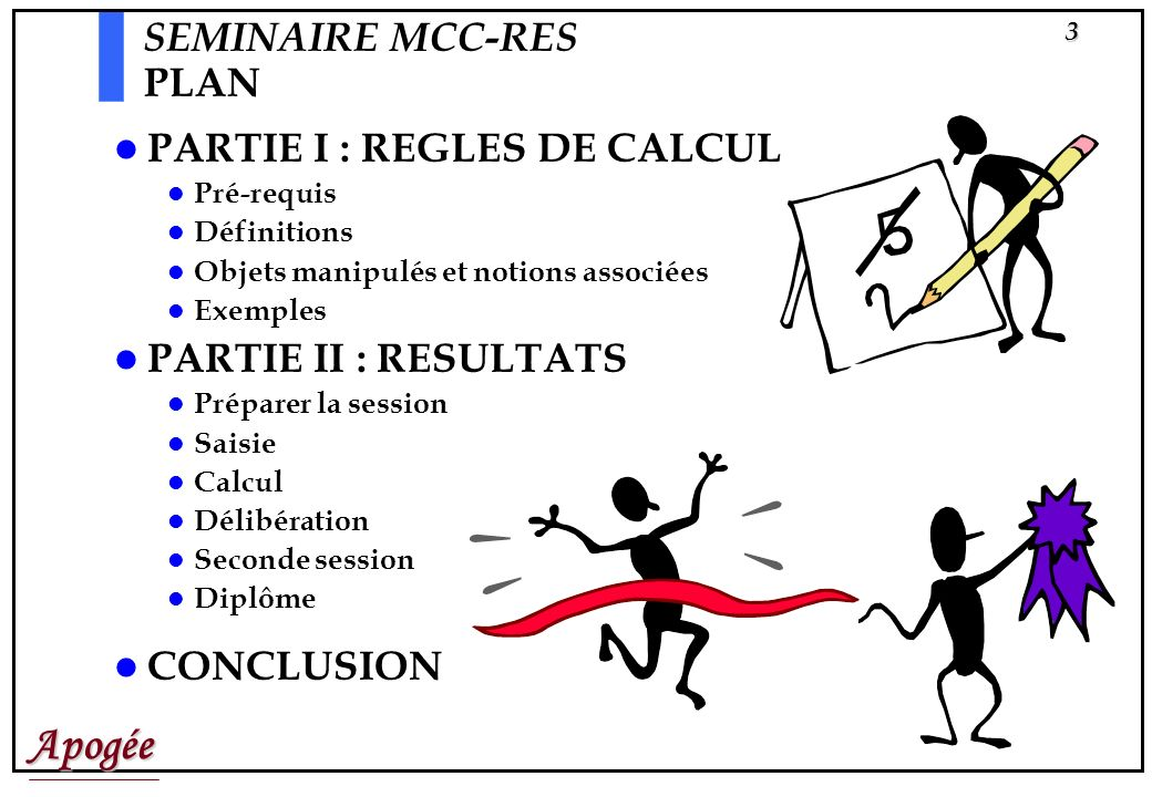 PARTIE I : REGLES DE CALCUL