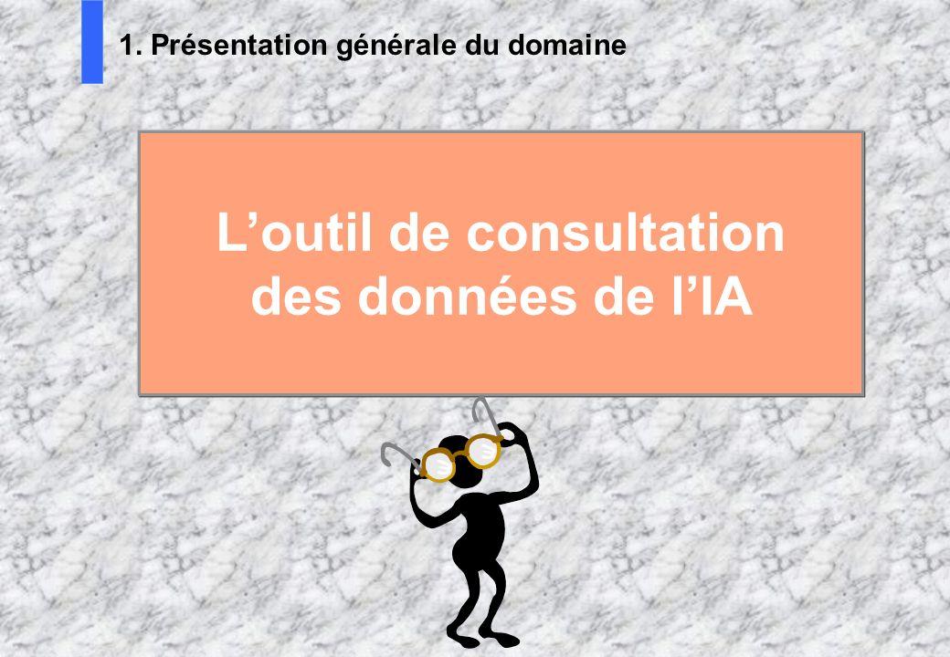 L'outil de consultation des données de l'IA