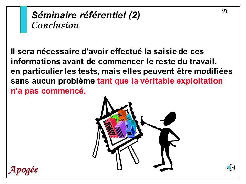 Séminaire référentiel (2) Conclusion