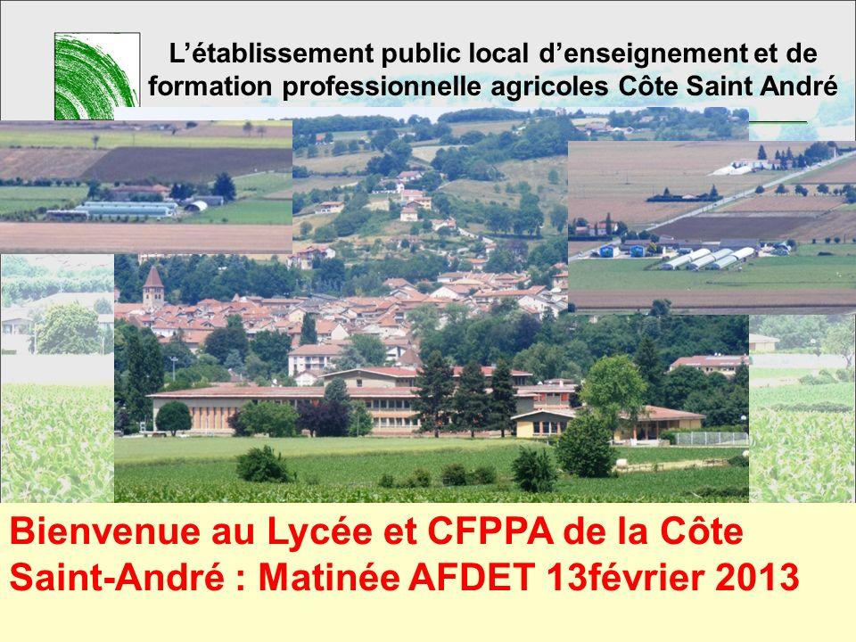 18/09/2008L'établissement public local d'enseignement et de formation professionnelle agricoles Côte Saint André.