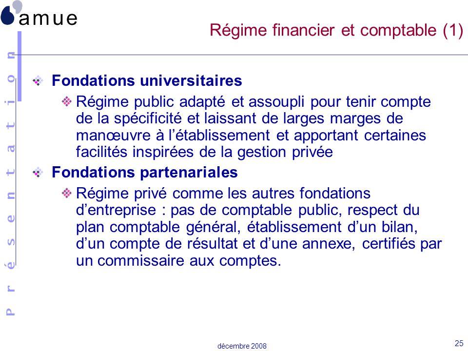 Régime financier et comptable (1)