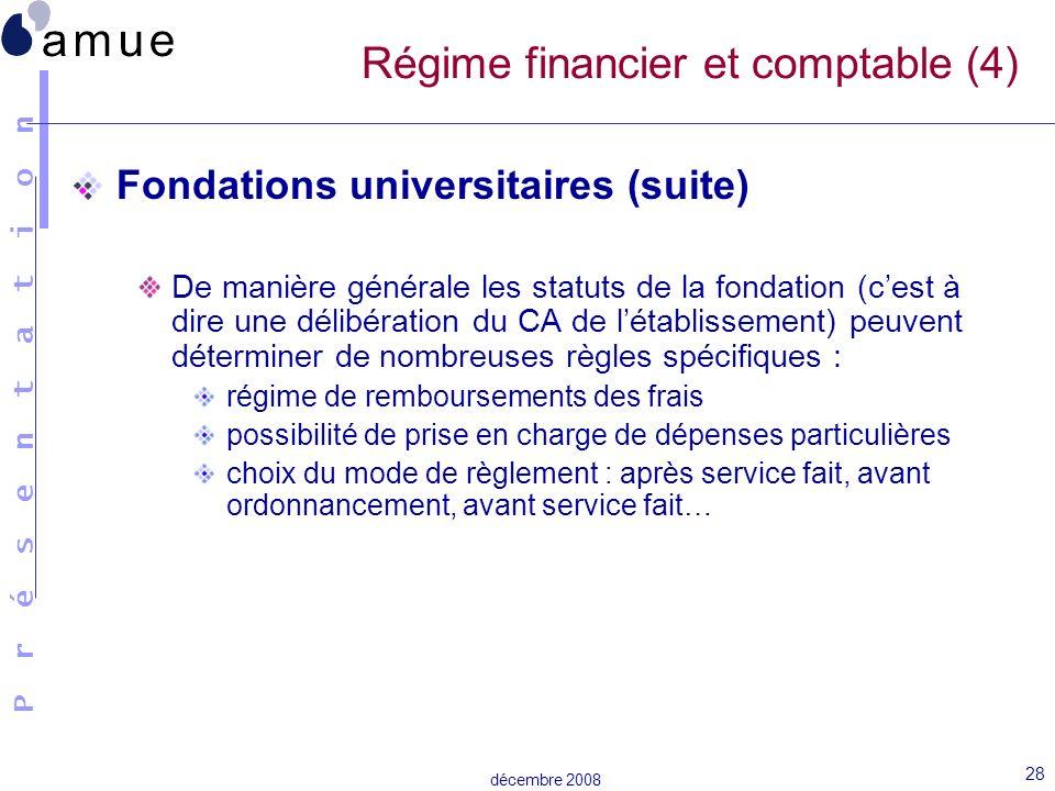 Régime financier et comptable (4)