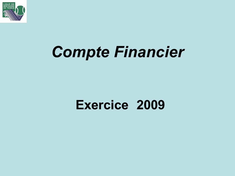Compte Financier Exercice 2009