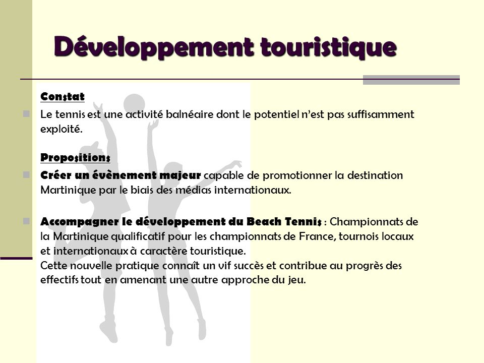 Développement touristique