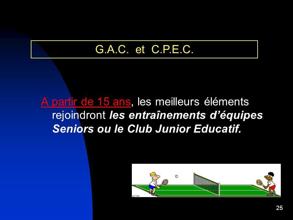 G.A.C. et C.P.E.C.