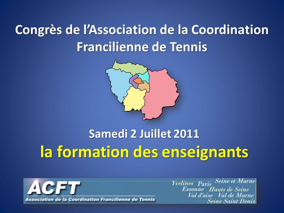Congrès de l'Association de la Coordination Francilienne de Tennis