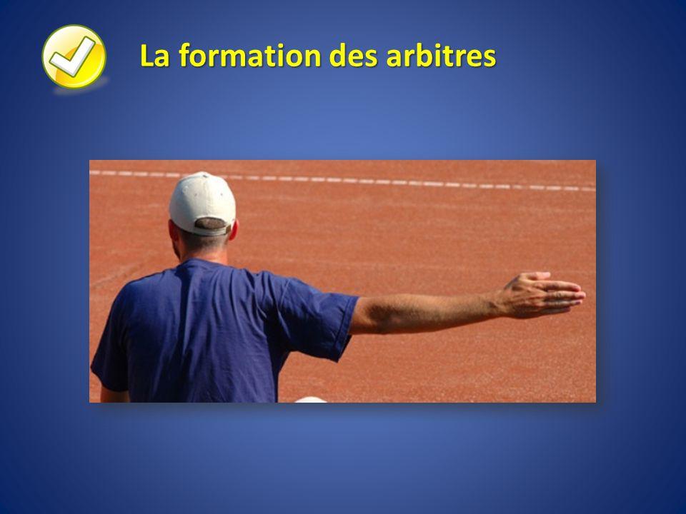 La formation des arbitres