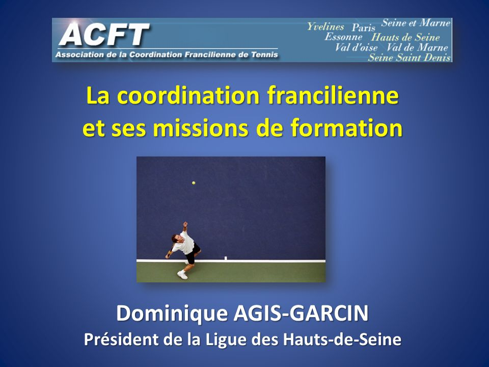 La coordination francilienne et ses missions de formation