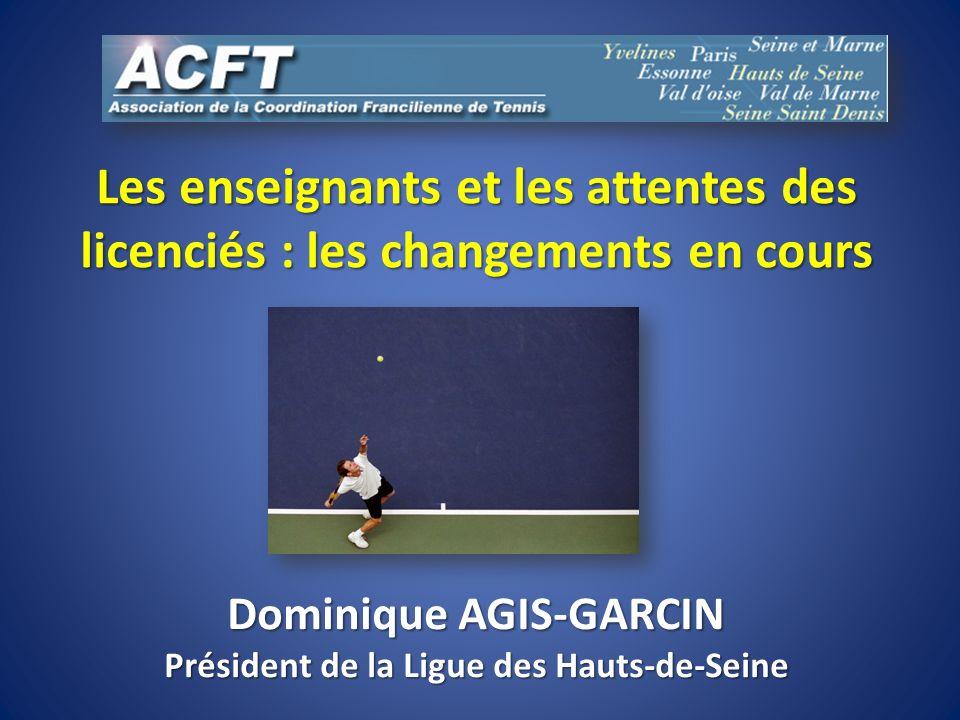 Dominique AGIS-GARCIN Président de la Ligue des Hauts-de-Seine