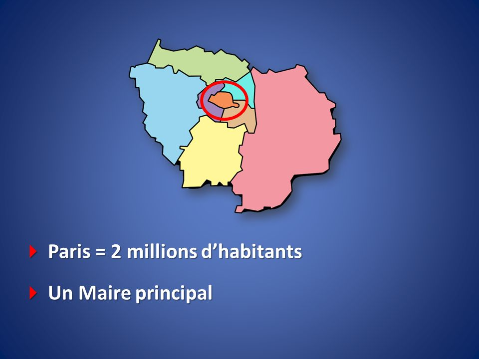  Paris = 2 millions d'habitants