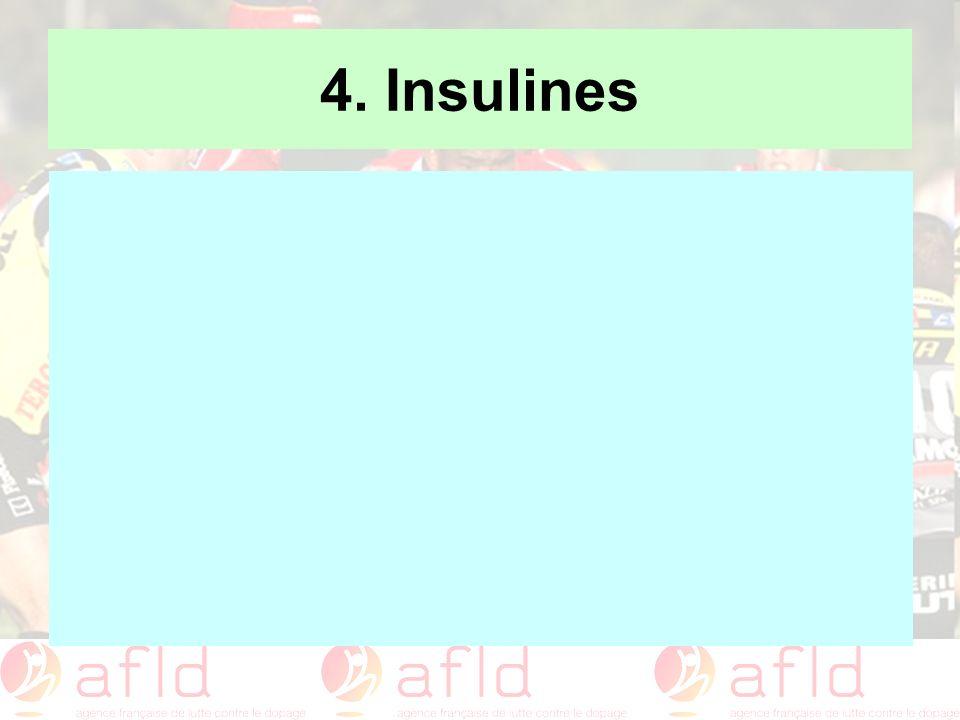 4. Insulines