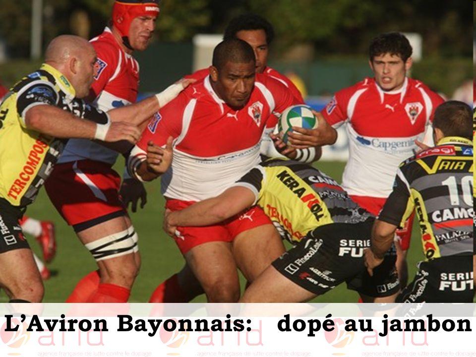 L'Aviron Bayonnais: dopé au jambon