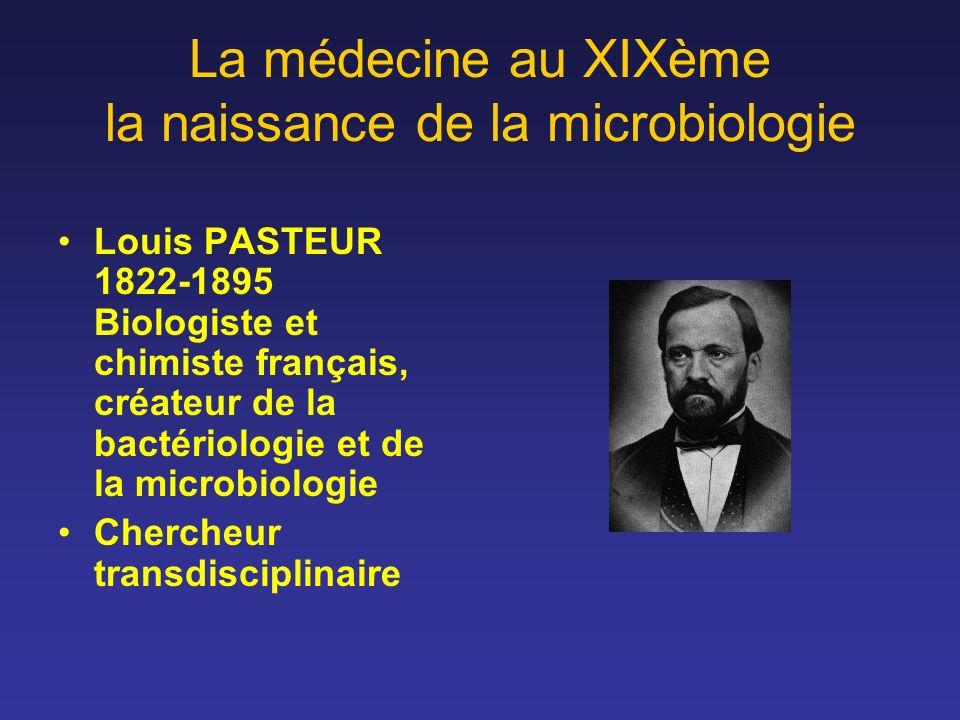 La médecine au XIXème la naissance de la microbiologie