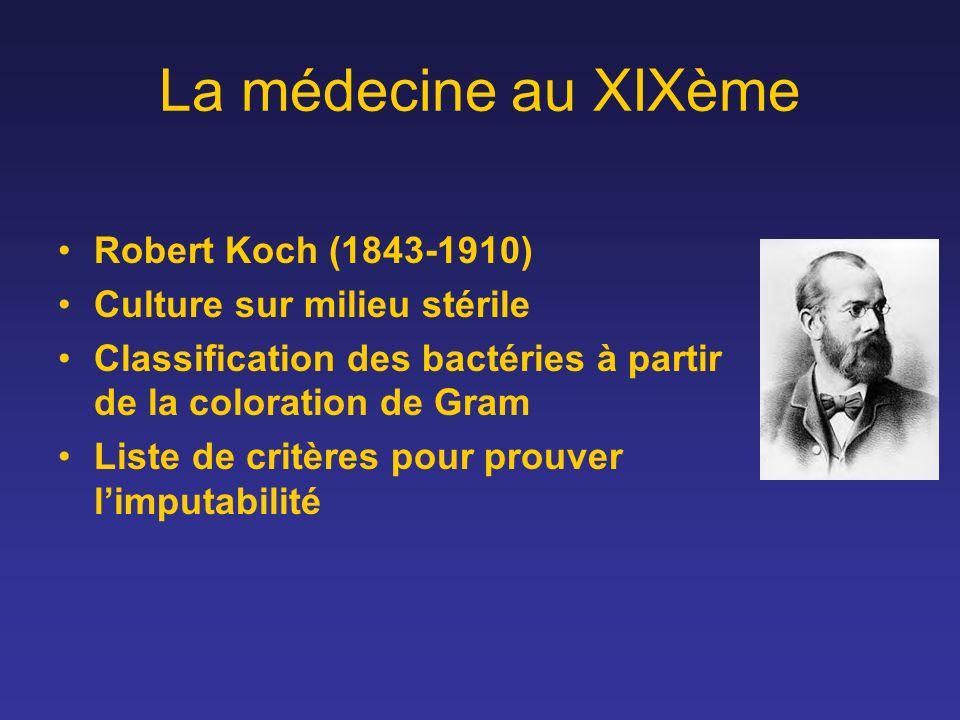 La médecine au XIXème Robert Koch (1843-1910)