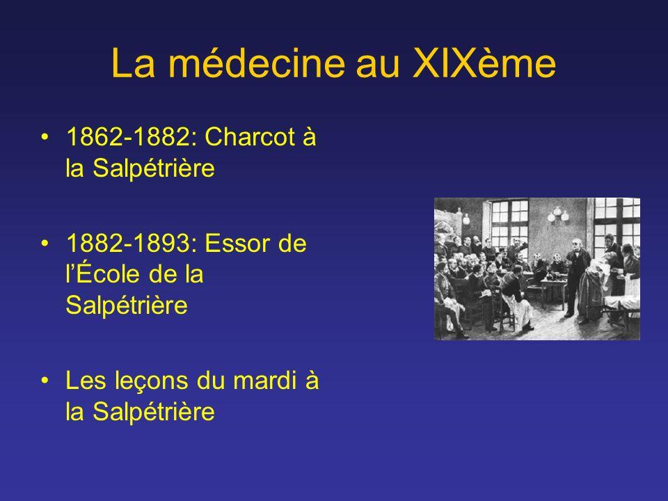 La médecine au XIXème 1862-1882: Charcot à la Salpétrière