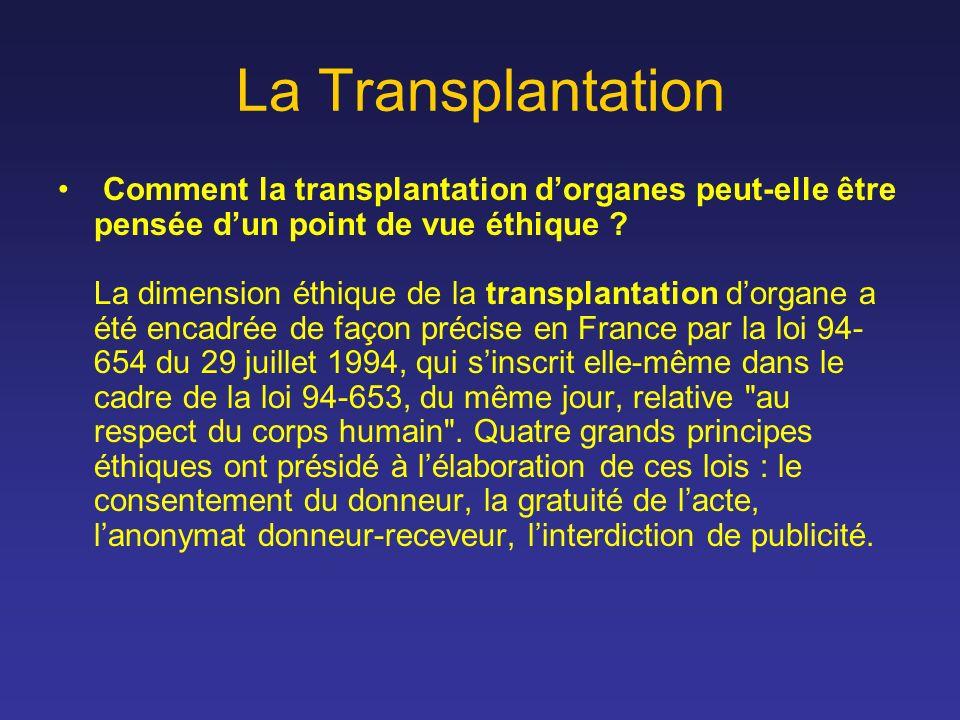 La Transplantation