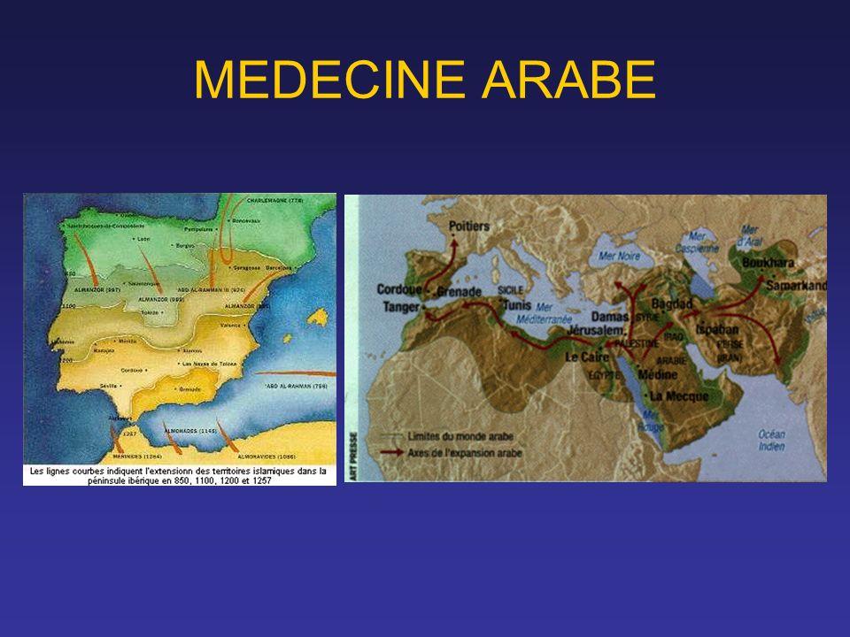MEDECINE ARABE