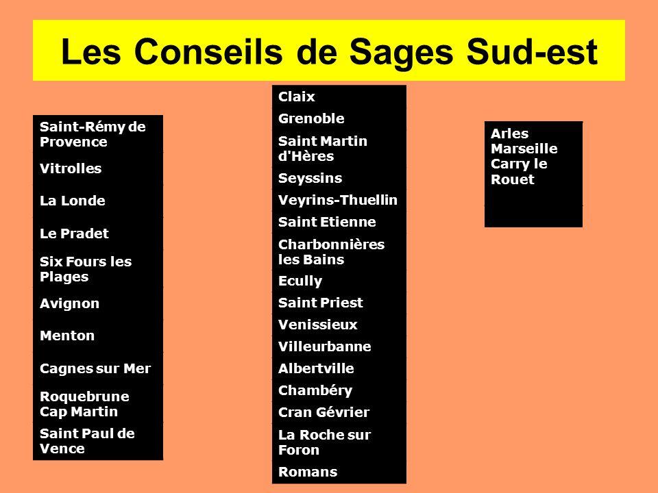 Les Conseils de Sages Sud-est
