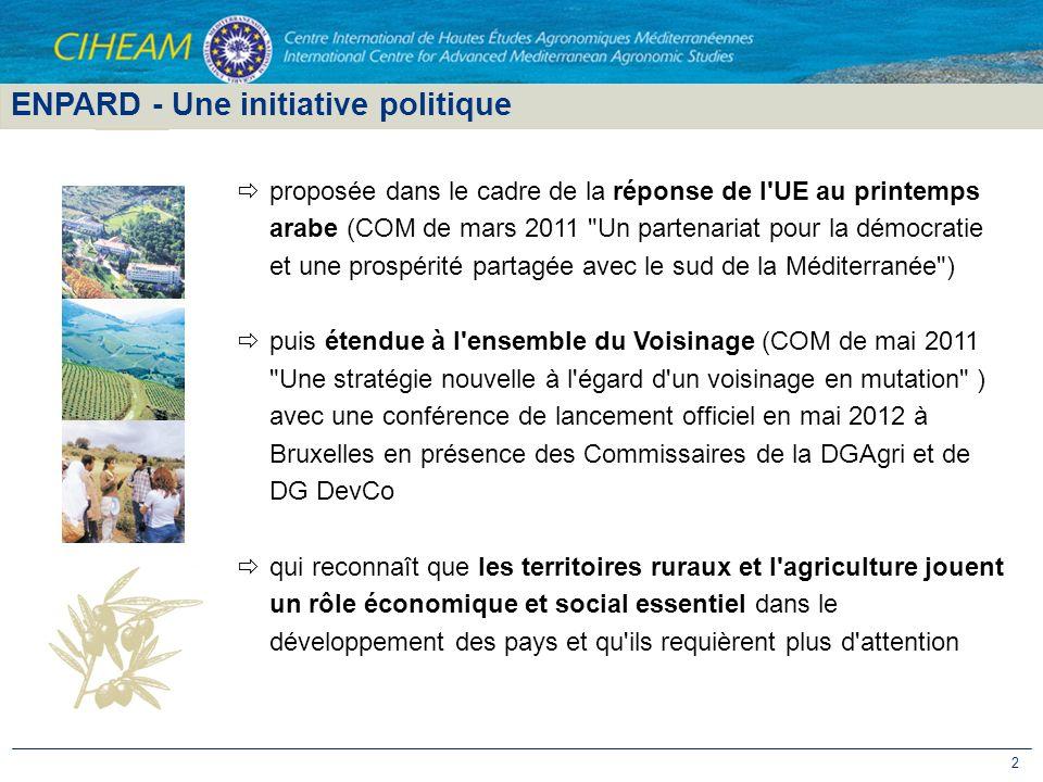 ENPARD - Une initiative politique