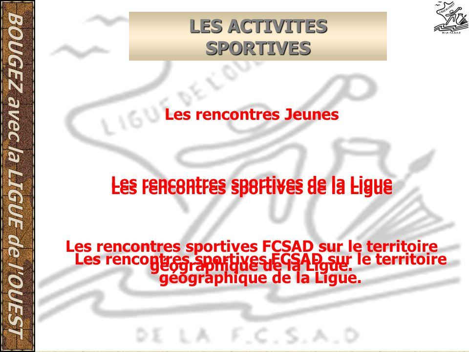 LES ACTIVITES SPORTIVES