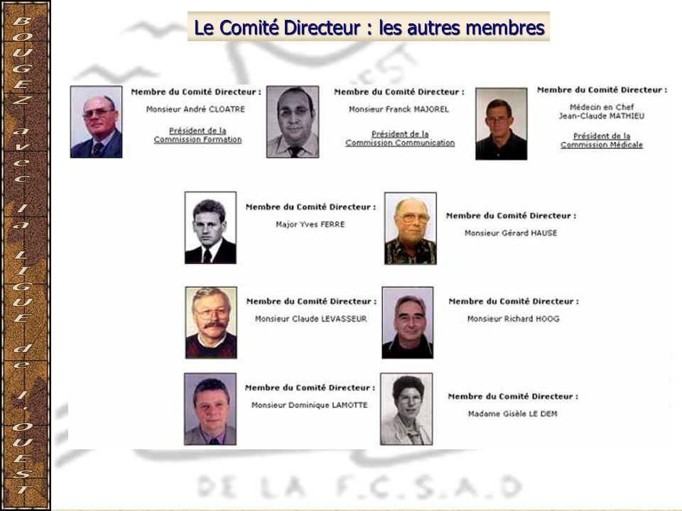 Le Comité Directeur : les autres membres