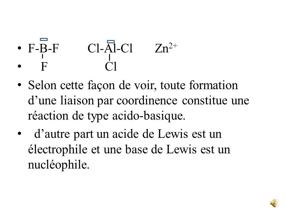 F-B-F Cl-Al-Cl Zn2+ F Cl.