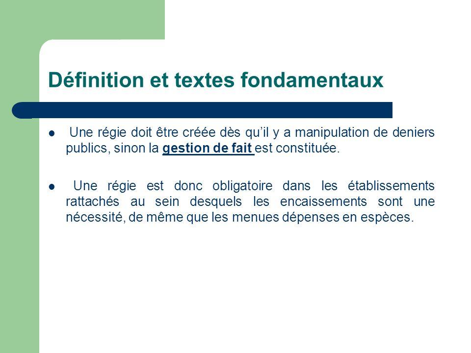 Définition et textes fondamentaux