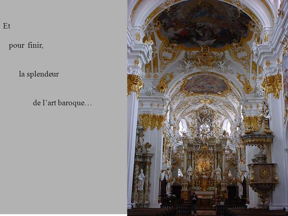 Et pour finir, la splendeur de l'art baroque…
