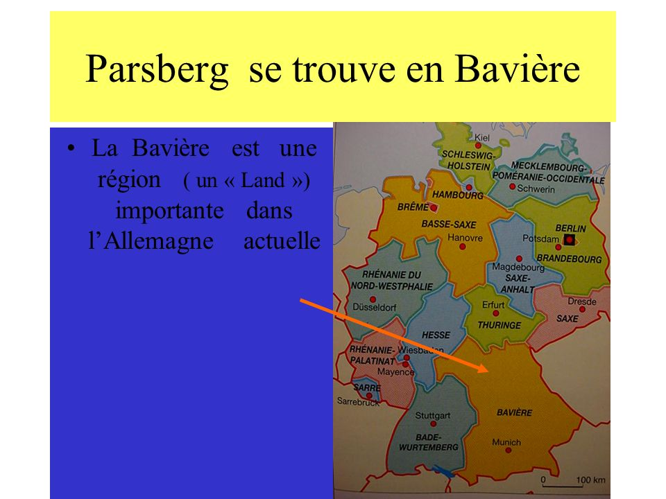 Parsberg se trouve en Bavière