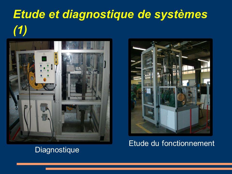 Etude et diagnostique de systèmes (1)