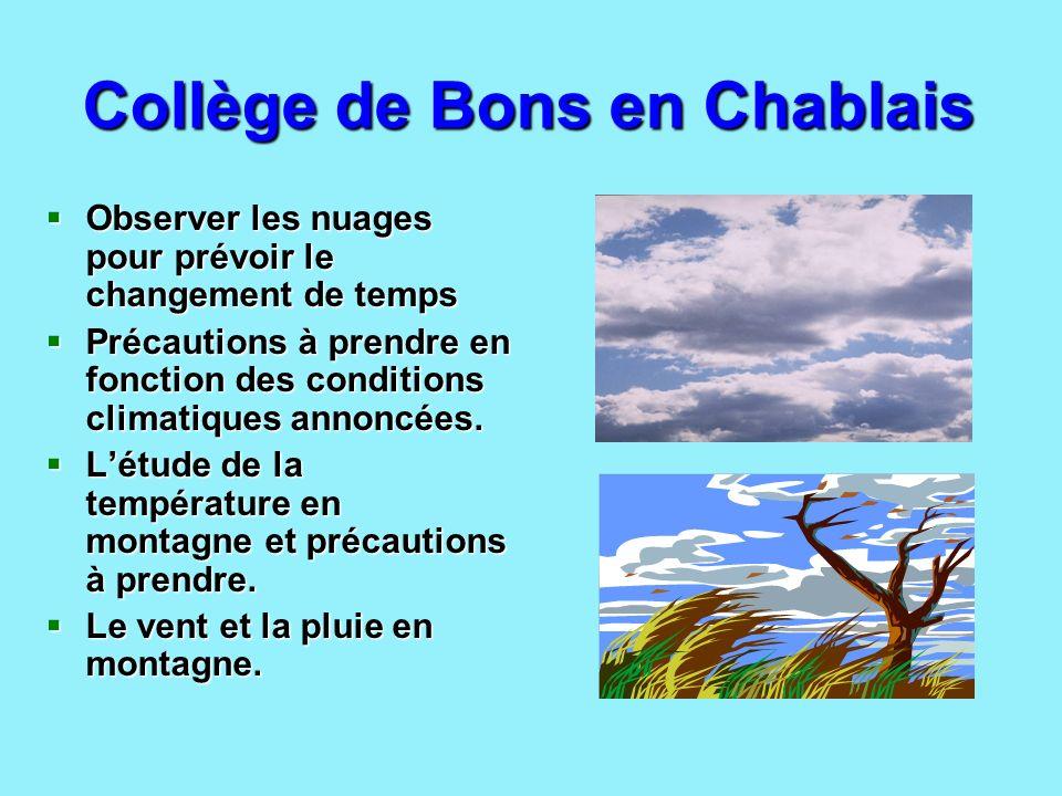Collège de Bons en Chablais
