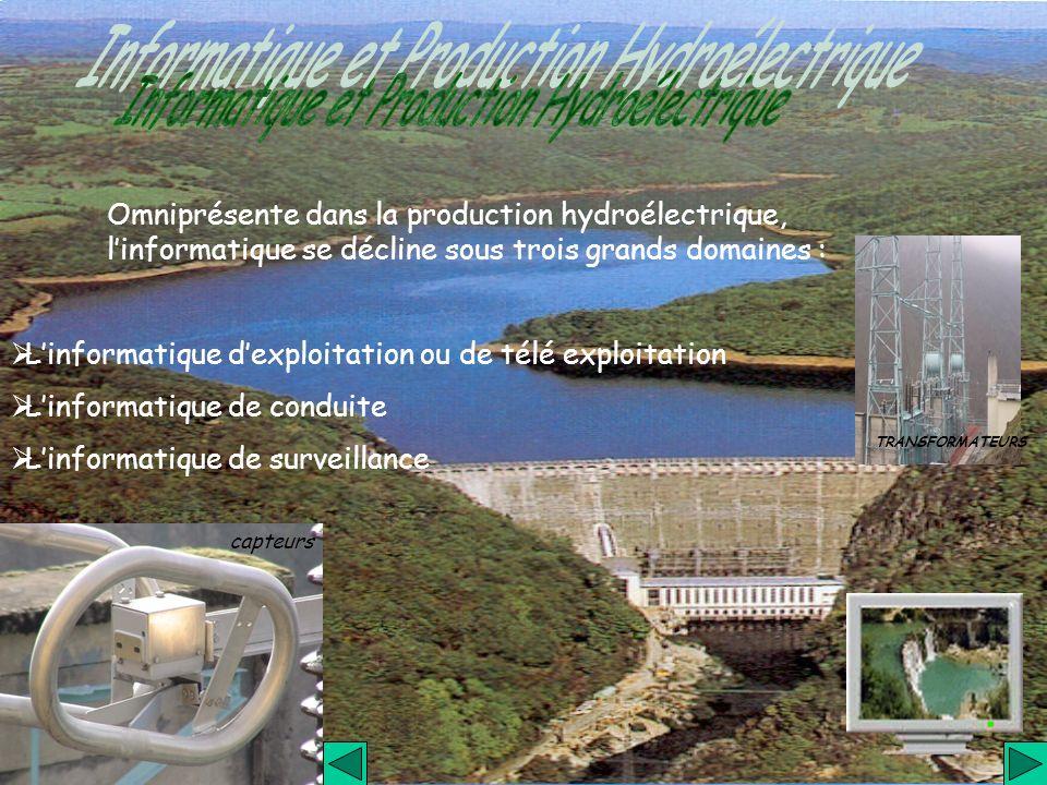 Informatique et Production Hydroélectrique