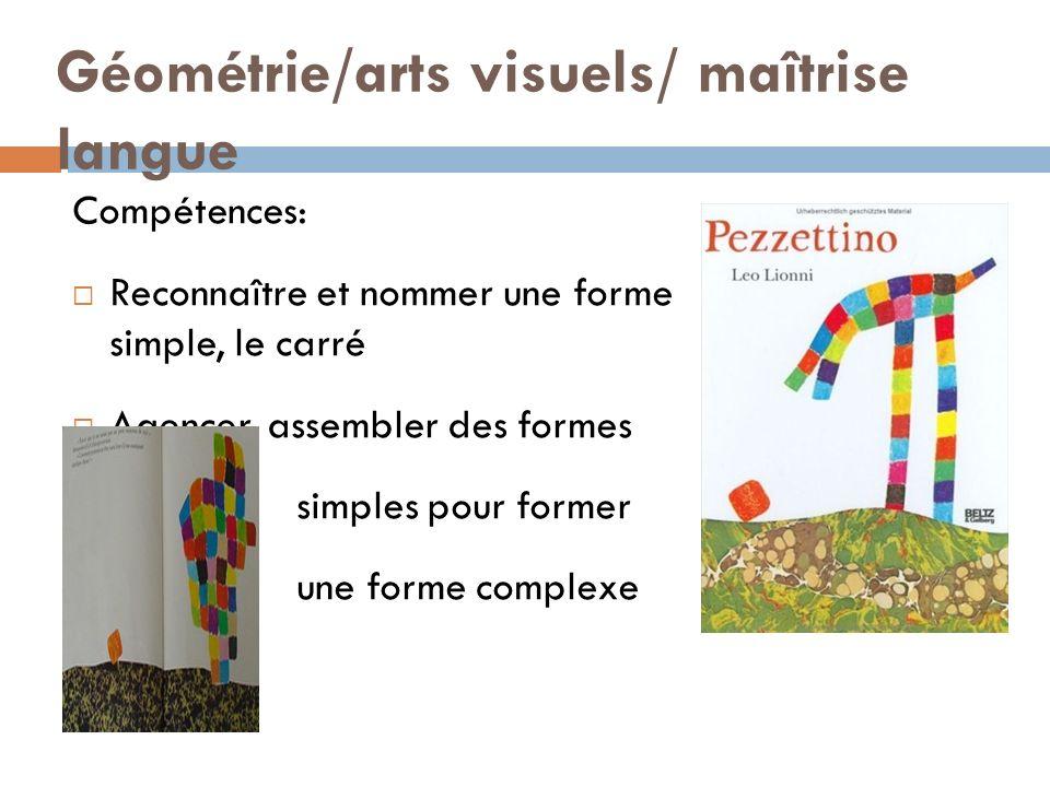 Géométrie/arts visuels/ maîtrise langue