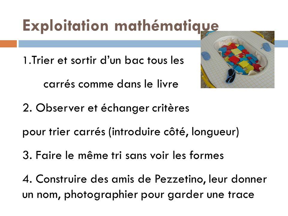 Exploitation mathématique
