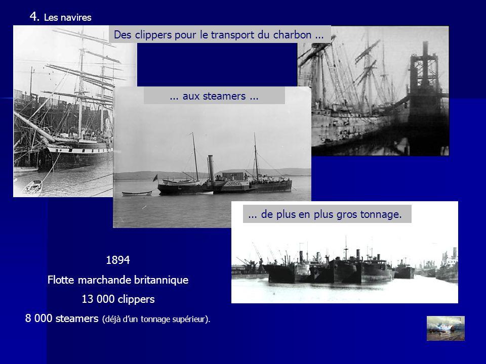 4. Les navires Des clippers pour le transport du charbon ...