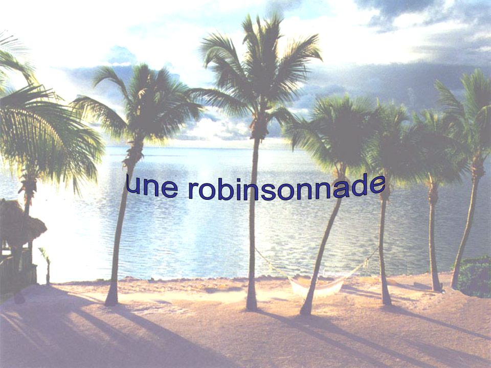 Image une robinsonnade