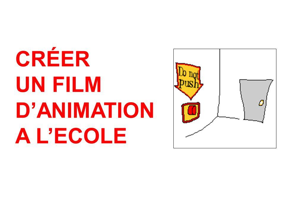 CRÉER UN FILM D'ANIMATION A L'ECOLE