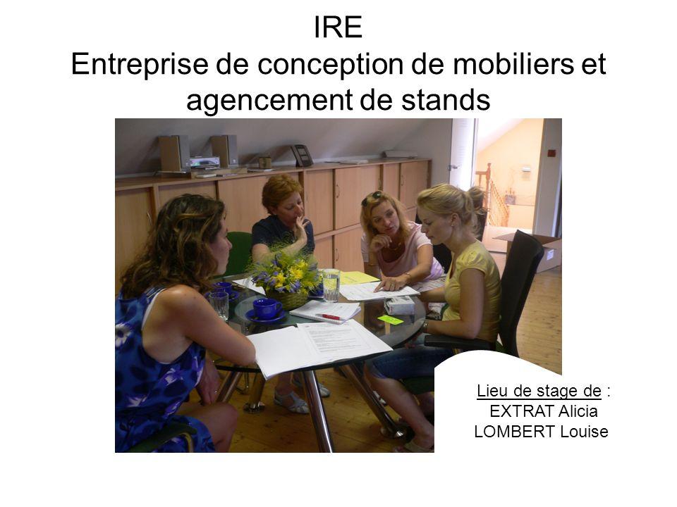 IRE Entreprise de conception de mobiliers et agencement de stands